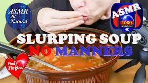 Urban Dictionary Soup Kitchen - mukbang soup slurping lip smacking finger eating whispering no