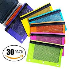 pencil pouches zippered pencil pouches by school smarts 3 ring