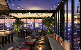 Roof Top Bars In Nyc New York City U0027s Largest Rooftop Bar Is About To Open Travel