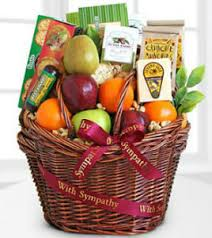 gourmet fruit baskets the ftd caring kindness gourmet fruit basket cress floral
