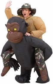 new kids halloween christmas inflatable chimpanzee monkey