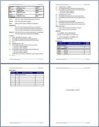 sop procedure template business processes pinterest template