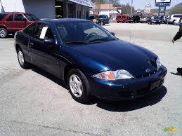 2002 indigo blue metallic chevrolet cavalier coupe 11127177