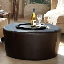 belham living dalton coffee table round tufted storage ottoman