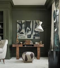 new dark green walls in living room interior decorating ideas best
