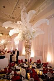 chic feather wedding centerpieces ostrich ebay centerpieces