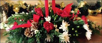 Christmas Flowers Christmas Flowers And Wreaths Floral Arrangements Kenny