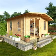 Garden Shed Office Garden Sheds From The Gardening Website