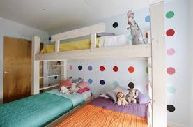 Bunk Beds For Three Bedroom Amusing Stylish Bunk Beds For Young Girls Stylish Bunk