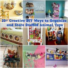 how to organize toys 20 creative diy ways to organize and store stuffed animal toys