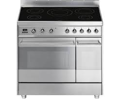 Smeg 110 Gloss Black Induction Smeg Sy92ipx8 90cm Electric Range Cooker With Induction Hob