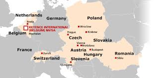 netherland map europe global network local offices belgium netherlands austria and