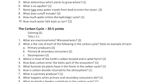 printables the nitrogen cycle worksheet answers ronleyba