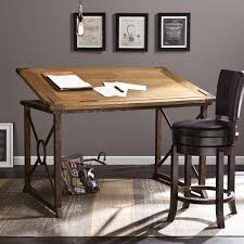Wood Drafting Table Plans Glenview Wood Drafting Table Wayfair I Wish I U2026 Pinterest