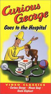 amazon curious george hospital vhs movies u0026 tv