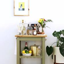 ikea kitchen hack ikea kitchen bar cart hack popsugar home