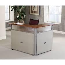 Reception Station Desk Ofm Pg297 Rize L Shaped Reception Station 60 X 48 Free Shipping