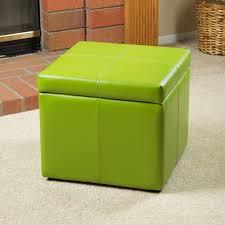 best of cube storage ottoman with green storage ottoman