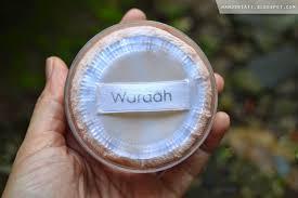 Bedak Tabur Wardah Anti Acne review bedak tabur wardah powder acne series one taste