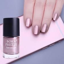 rose gold mirror effect chrome metallic nail art varnish polish