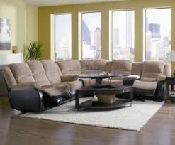modern reclining sectional foter