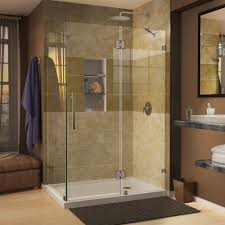 frameless corner shower doors shower doors the home depot quatra