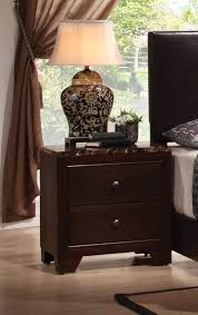Bedroom Furniture Marble Top Nightstands Coaster Fine Furniture 200422 Conner Night Stand With Faux Marble Top