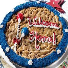 Mrs Fields Gift Baskets Patriotic Gift Baskets Mrs Fields Home Coming Cookie Cake