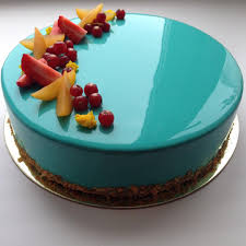 mirror glaze cake this russian baker makes glossy marble cakes that are too gorgeous