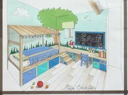 plan chambre bébé chambre amenagement chambre enfant aménagement petit espace