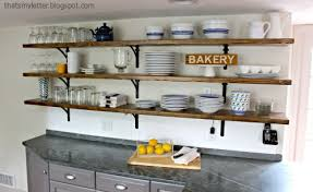 Trendy Inspiration Wooden Kitchen Shelves Exquisite Ideas That S