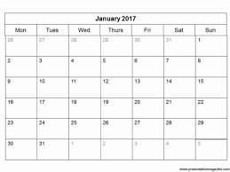 blank calendar template month