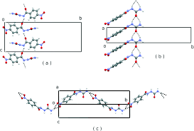 orthogonal h bonding synthons actual and virtual structures in