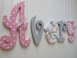 nursery name sign nursery letters nursery wall hanging
