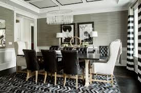 transitional dining room sets black and white spaces transitional dining room york
