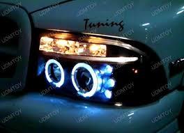 2007 dodge dakota lights 97 04 dodge dakota black dual halo projector led headlights