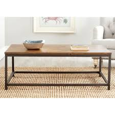 Safavieh Alec Brown Coffee Table Amh6545a The Home Depot
