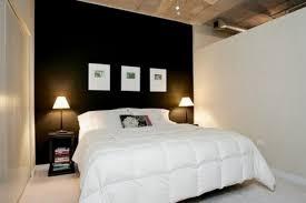 Home Interior Bedroom Dark Brown Cubical Nightstand Contemporary Modern Bedroom
