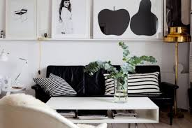 home decor black and white beautiful black and white décor in a small apartment
