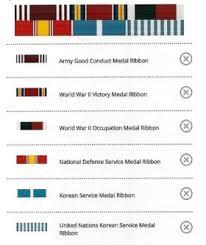korean service ribbon darrel zimmerman phony korean war combat veteran pow this ain