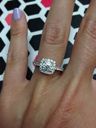5 Carat Cushion Cut Engagement Rings Need To See Some Size 4 Fingers With Engagement Rings Weddingbee
