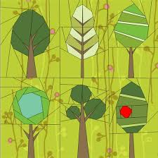 paper piecing quilt patterns animals flowers and trees paper