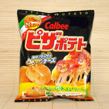 ripples chips calbee ripple potato chips pizza cheese napajapan