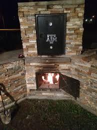 metal vs masonry grills smokers texags