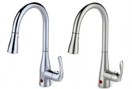 Touch Free Kitchen Faucets hands free kitchen faucets humungo us