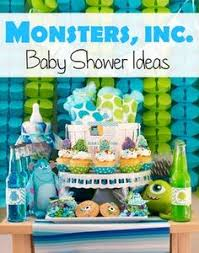 inc baby shower decorations baby shower decorations cake baby girl or boy monsters
