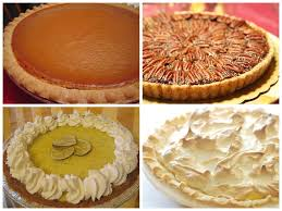 thanksgiving pies reflect slices of american american food