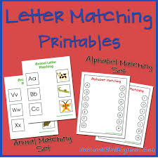 letter matching printables over the big moon