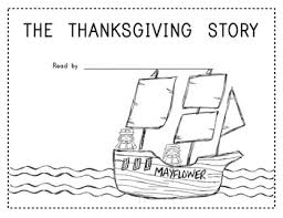 the thanksgiving story rebus style for readers in