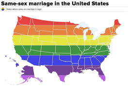 Study United States Map by Study This Map Of Where Same Marriage Is Legal In The United